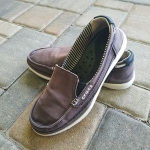 Crocs Slipon Canvas Loafers